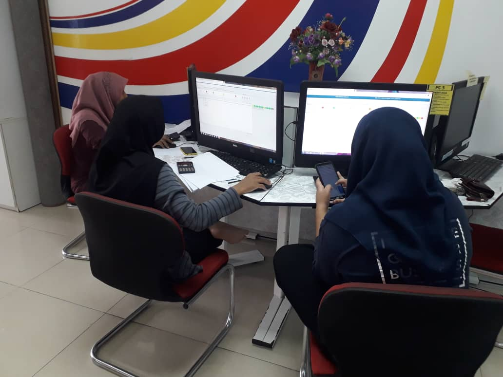 Penggunaan Sistem Atas Talian Peperiksaan Online